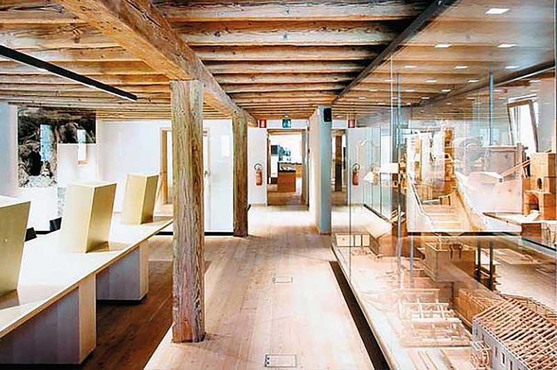 Bild: Ausstellungsräume Bergbaumuseum - Kornkammer