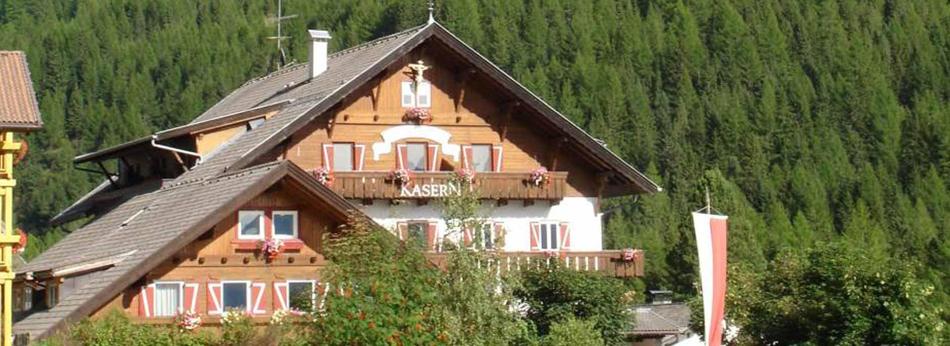 Ansicht: Berghotel Kasern